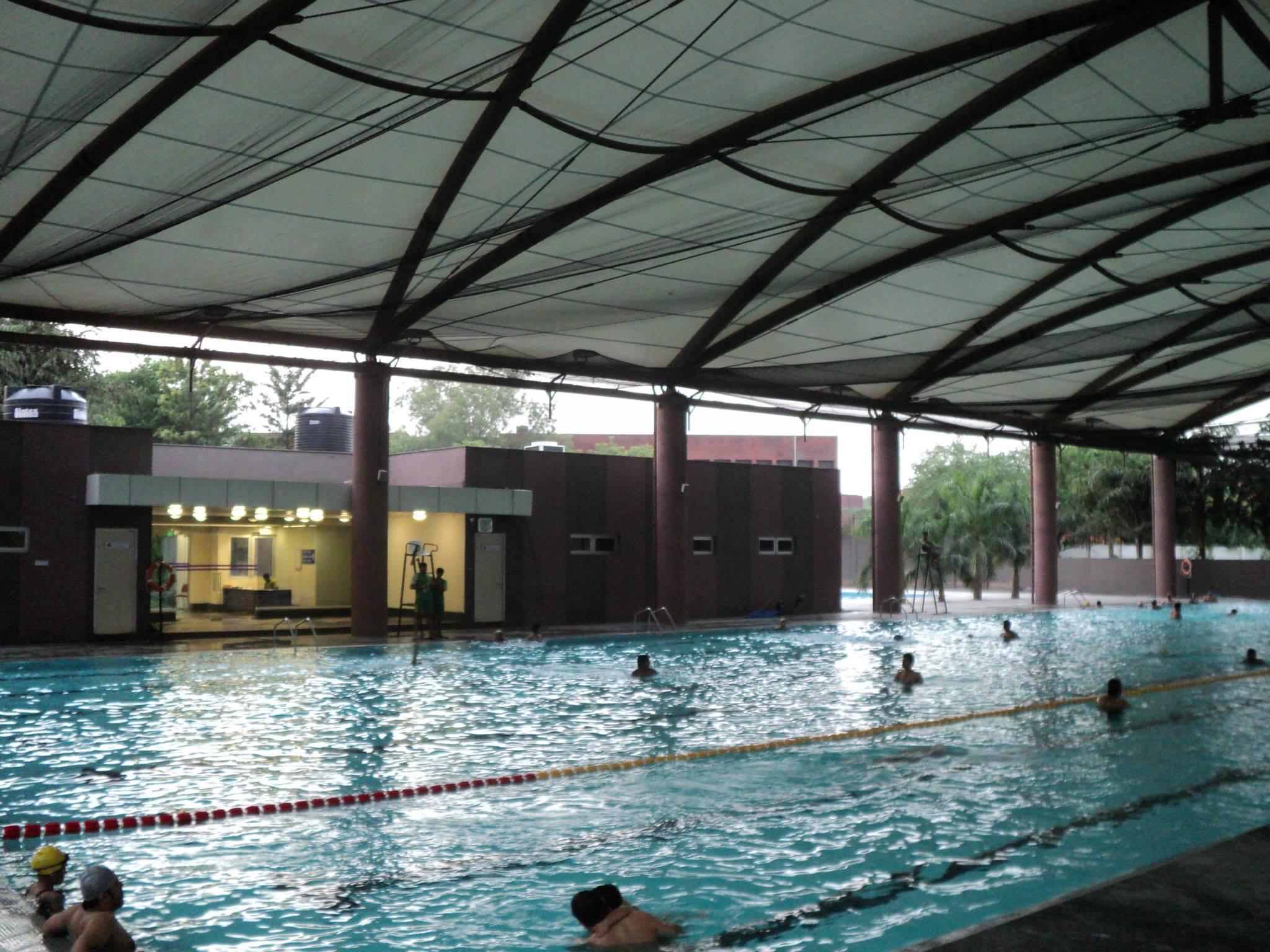 Impulse CCTV & PoE Switching l Siri Fort Sports Complex Installation
